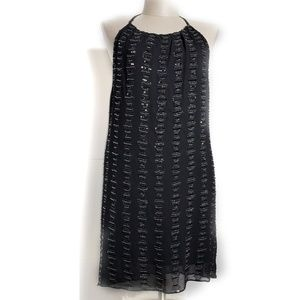 MLV by MAYREN LEE VIRAY Beaded Halter Dress Size S